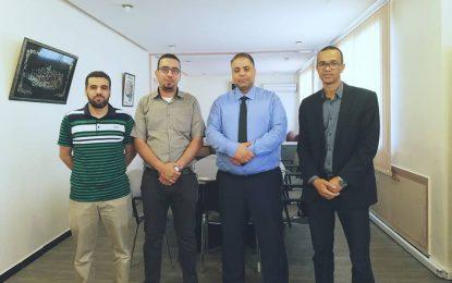 فريق أوراق رقمية بتاوريرت يعقد لقاء تواصليا مع المدير الإقليمي لوزارة التربية الوطنية.